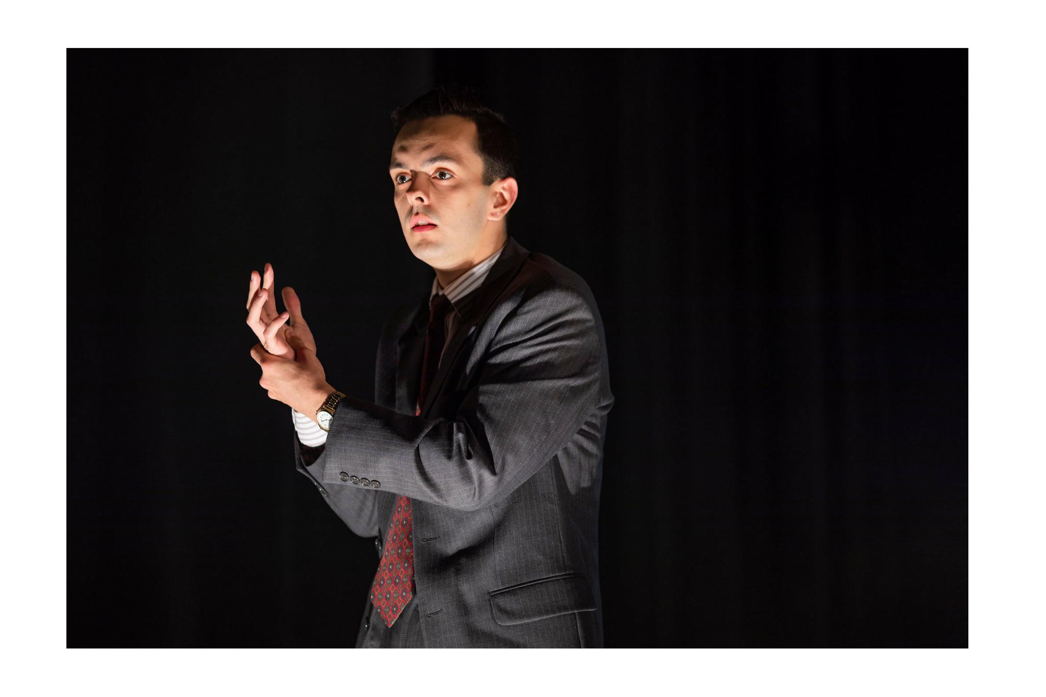Billy Saunders, Jr. (Macbeth) in Macbeth, CSC2, 2018-Photo by Nile Hawver