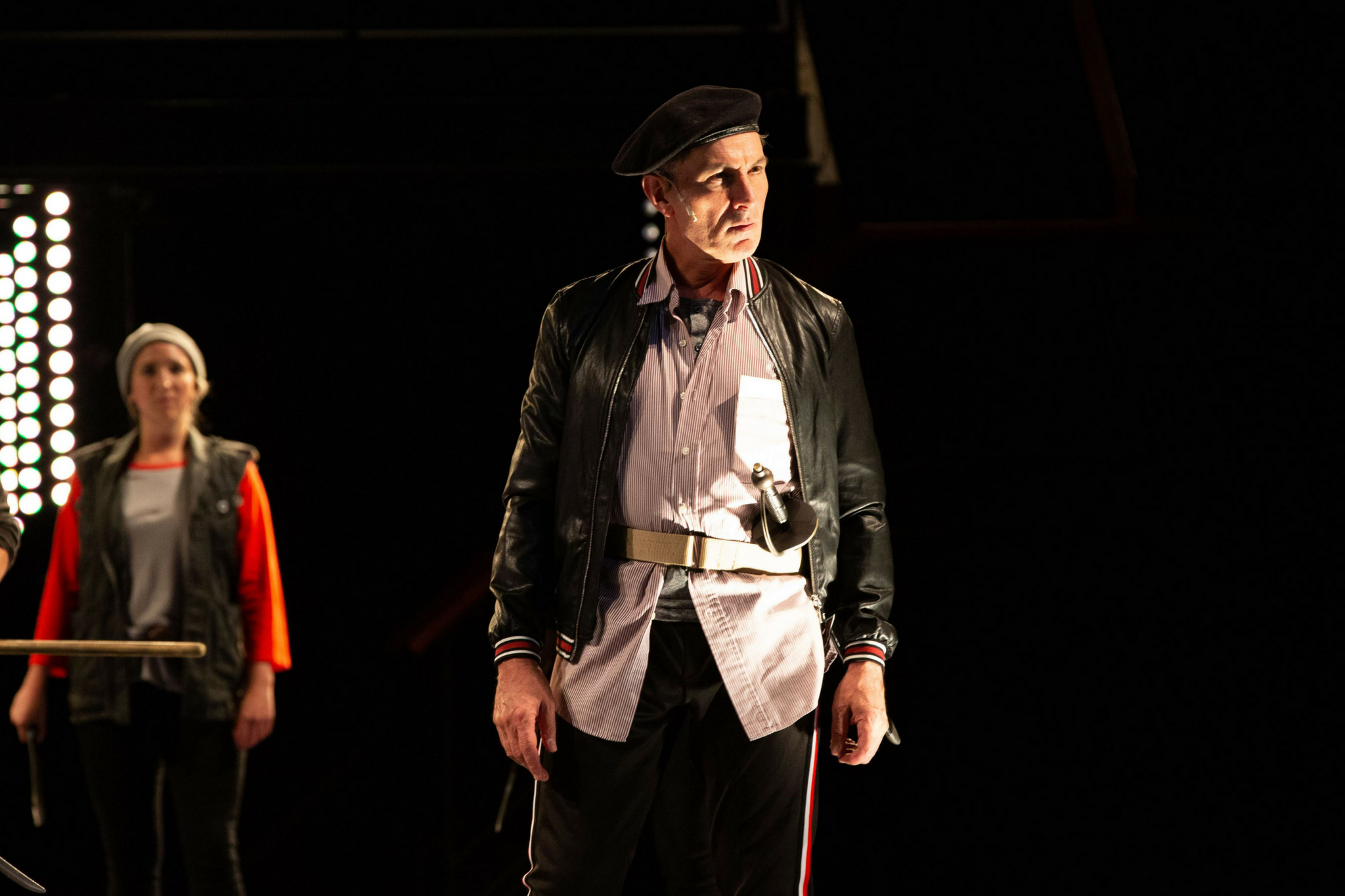 Mark Torres (Earl of Oxford) in Richard III, Shakespeare on the Common 2018-Photo by Evgenia Eliseeva