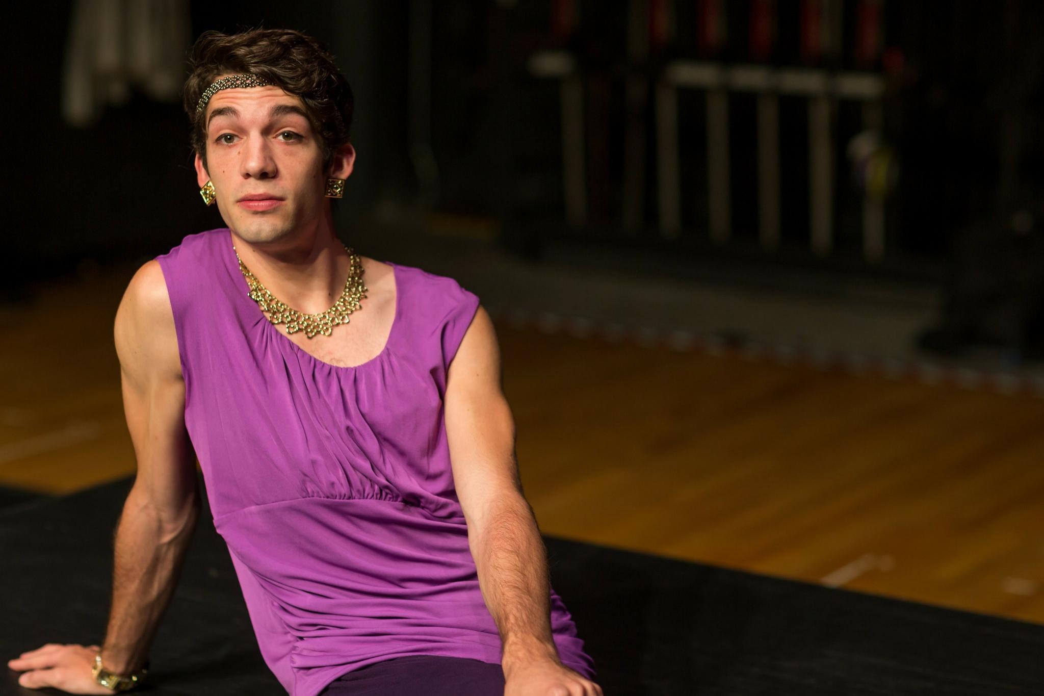 Joey Tyler (Queen) in Cymbaline, Apprentice Program, 2016-Photo by Nile Hawver