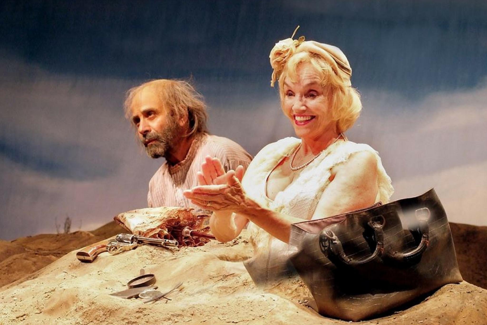 Tony Shalhoub (Willie) and Brooke Adams (Winnie) in Happy Days, 2014