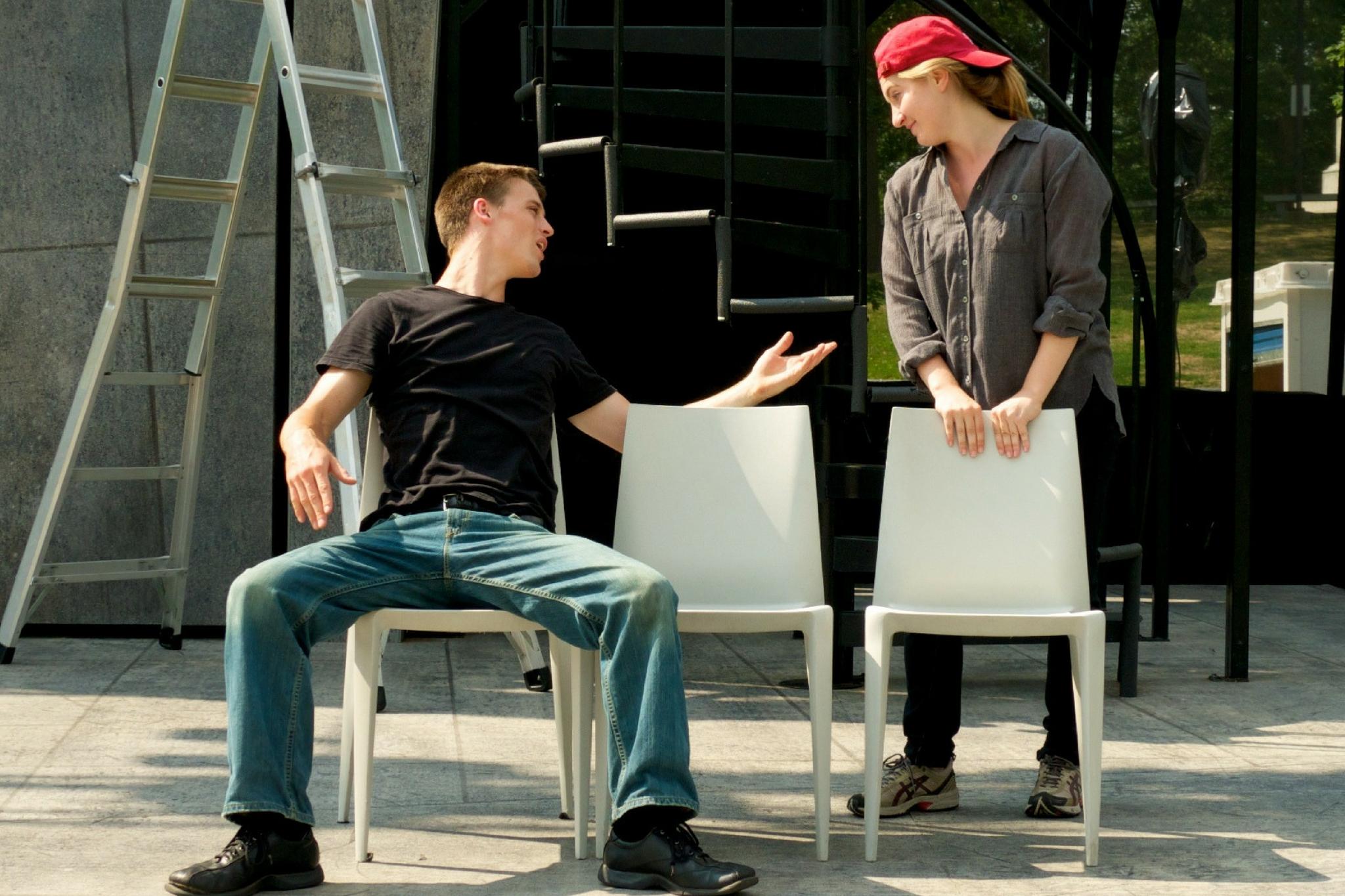 Michael Underhill in As You Like It, Apprentice Program, 2010