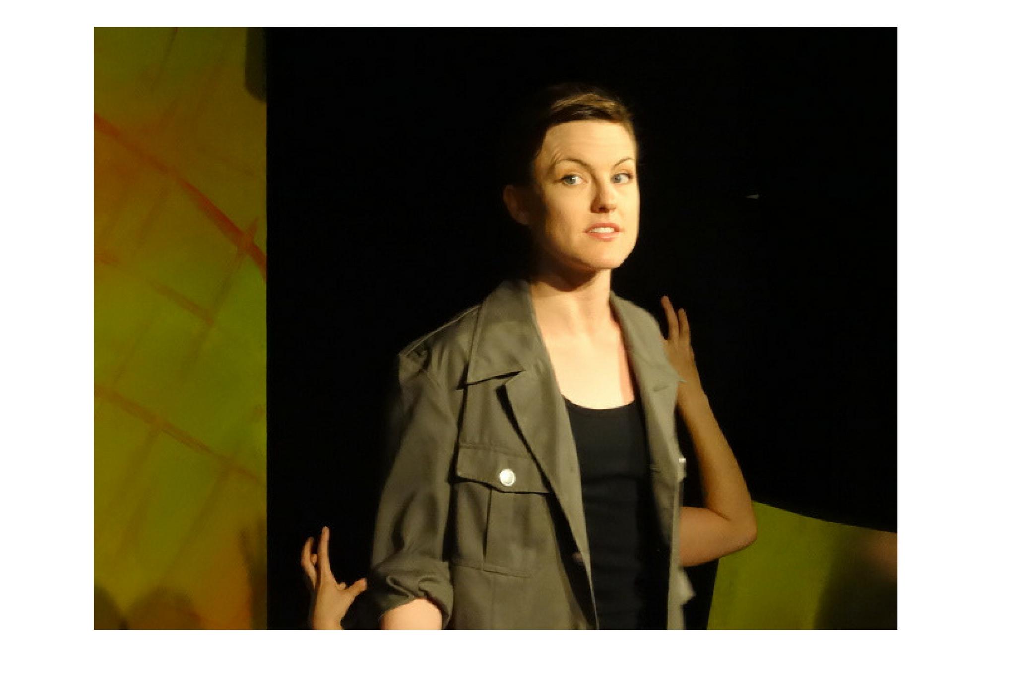 Marisa Gold (Macbeth) in Macbeth, Apprentice Program, 2010-Photo by Bob Geller