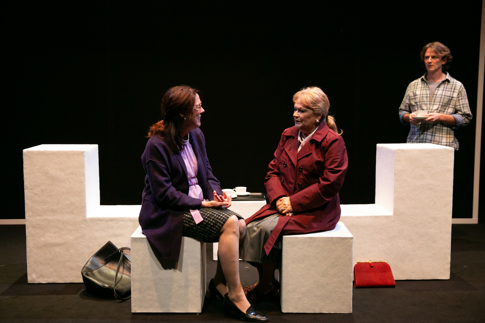 Maureen Keiller (Mrs. Oliver) and Karen MacDonald (Mrs. Plant) in Blue Kettle, 2018-Photo by Evgenia Eliseeva