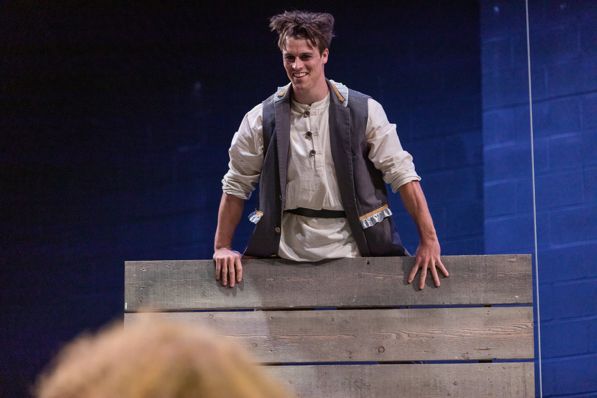 Michael Underhill (Tybalt) in Romeo & Juliet, CSC2, 2019-Photo by Nile Hawver