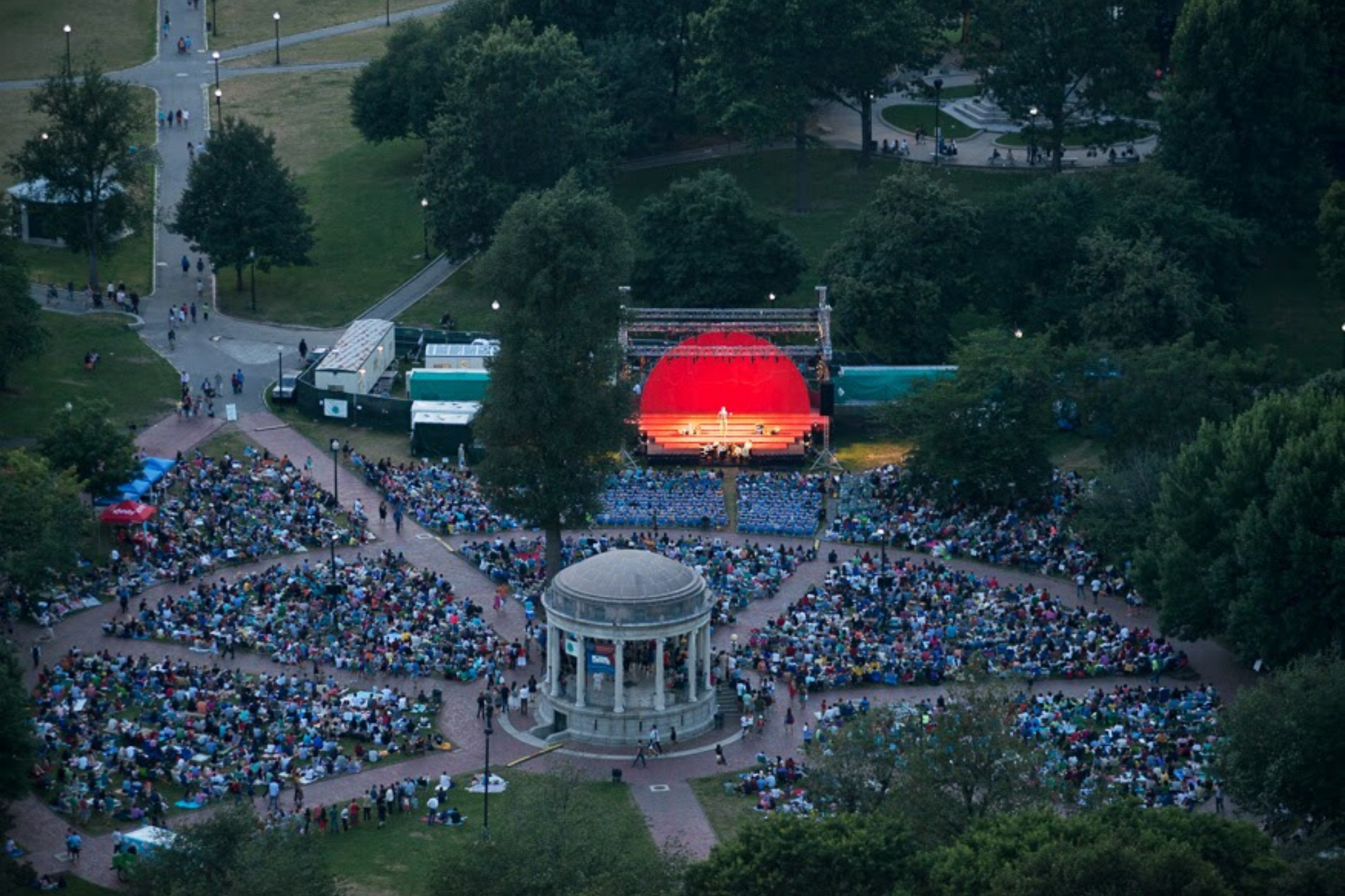 The Two Gentlemen of Verona, Shakespeare on the Common 2013-Photo by Andrew Brilliant.